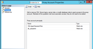 Add Proxy Account Principals